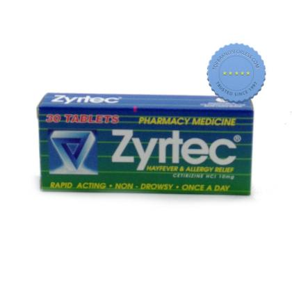 Buy zyrtec tablets 30 -