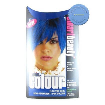 Buy smart color semi permanent electric blue -