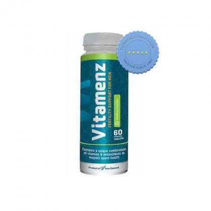 Buy Vitamenz Fertility Support for Men 60 Tablets