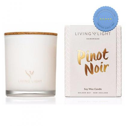 Buy Living Light Dream Soy Candle Pinot Noir 65Hr - Prompt Dispatch