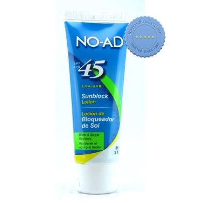 Buy No-Ad SPF 45 Sun Protection 89ml