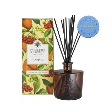 Buy Wavetree and London Reed Diffuser Persimmon and Red Currant 250ml - Prompt Dispatch