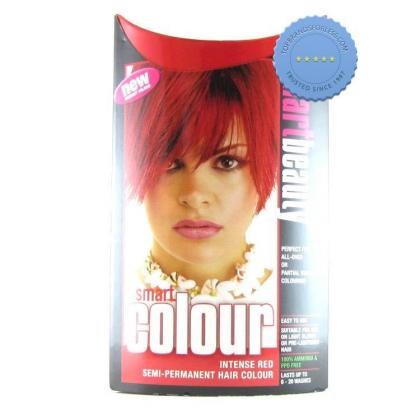 Buy smart color semi permanent intense red -