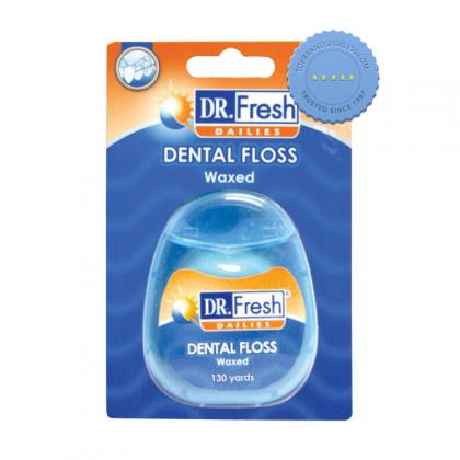 Buy Dr Fresh Dental Floss Waxed 199m - Prompt Dispatch