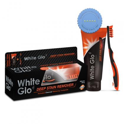 Buy white glo deep stain remover charc tooth - Prompt Dispatch