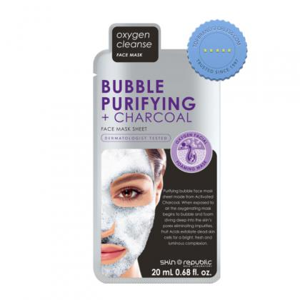Buy skin rep bubble purifying char face mask - Prompt Dispatch