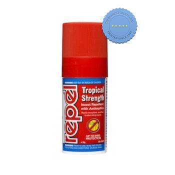 Buy Repel Tropical Strength Insect Repellent 30g