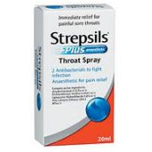 Buy Strepsils Plus Throat Spray 20ml