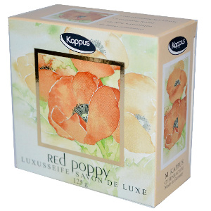 Buy Kappus Soap Red Poppy 125g