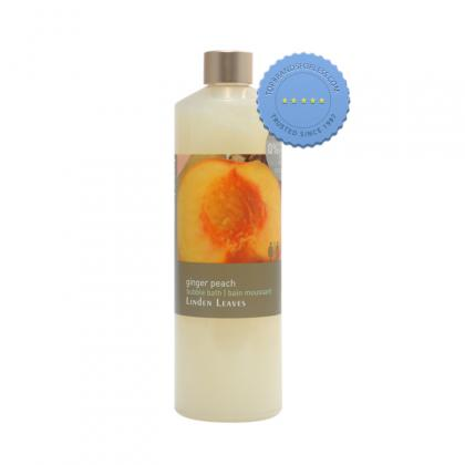 Buy linden leaves ginger peach bubble bath 500ml -
