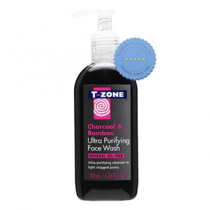 Buy T Zone Charcoal Facial Wash 200ml - Prompt Dispatch