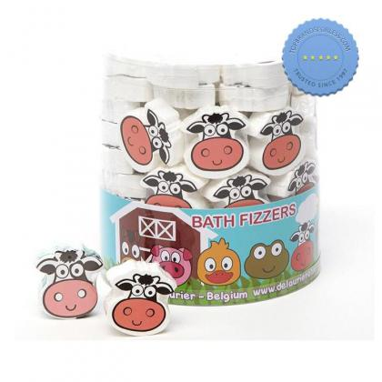 Buy isabelle laurier bath fizzer cow 20g - Prompt Dispatch