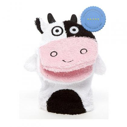 Buy isabelle laurier bath mitt cow - Prompt Dispatch