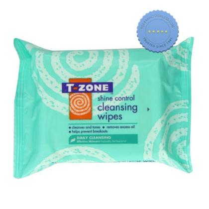 Buy T Zone Shine Control Cleansing Wipes 25 -