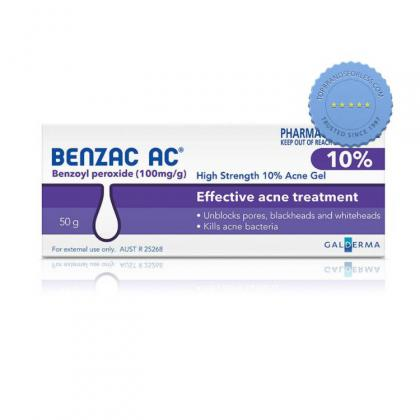 Buy Benzac AC Gel 10 Percent 50g