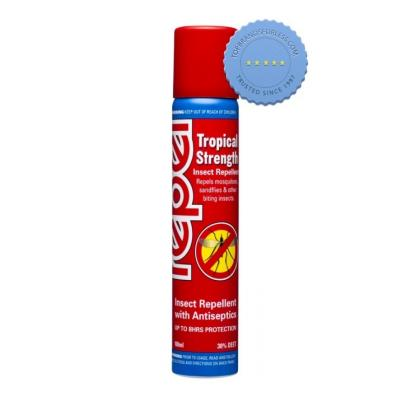 Buy Repel Tropical Insect Repellent Spray 100ml -