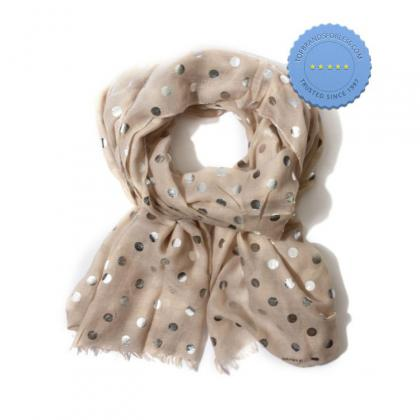 Buy tritex spot lurex scarf - Prompt Dispatch