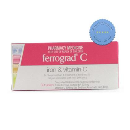 Buy Ferrograd C 30 Tablets -