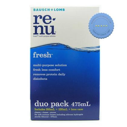 Buy Bausch Lomb Renu Multi Plus Duo Set Special -