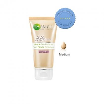 garnier skin natural bb cream miracle skin perfector sensitive skin medium spf 15 50ml