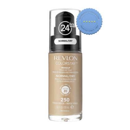 revlon colorstay foundation for normal to dry skin 250 fresh beige -