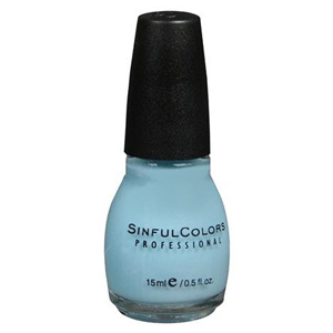 Buy SINFUL COLORS shimmer nail enamel cinderella -