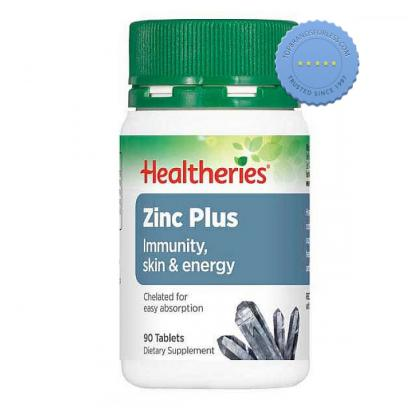 Buy Healtheries Zinc Plus 90s