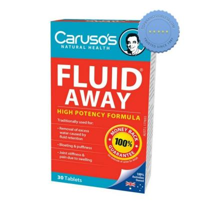 Buy Carusos Fluid Away High Potency 30 Tablets
