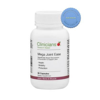 Buy Clinicians Mega Joint Ease 90 Capsules -