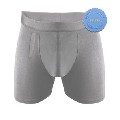 Buy Confitex Mens Brief with Fly Moderate Absorbency Grey Size S -