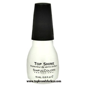 Buy SINFUL COLORS top shine -