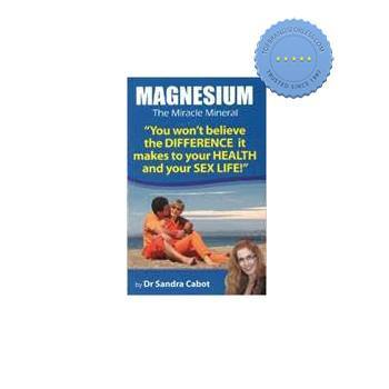 Magnesium The Miracle Mineral Book - Dr Sandra Cabot
