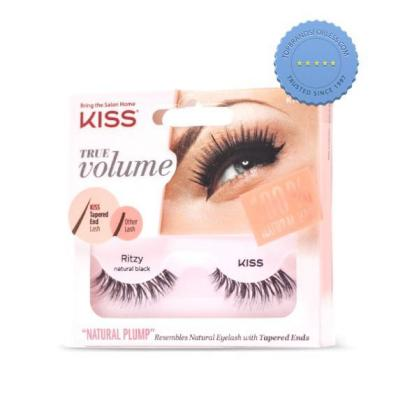 Buy Kiss True Volume Tapered End Lashes Ritzy - Prompt Dispatch