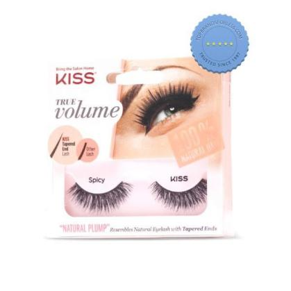 Buy Kiss True Volume Tapered End Lashes Spicy - Prompt Dispatch