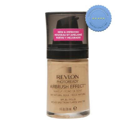 Buy revlon photoready airbrush effect make up natural beige