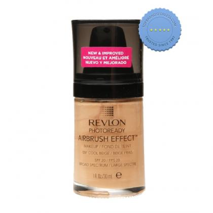 Buy revlon photoready airbrush effect make up cool beige