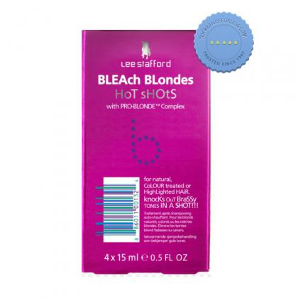 Buy ls bleach blonde hotshots 4x15ml - Prompt Dispatch