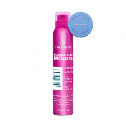 Buy Lee Stafford Double Blow Mousse 200ml - Prompt Dispatch