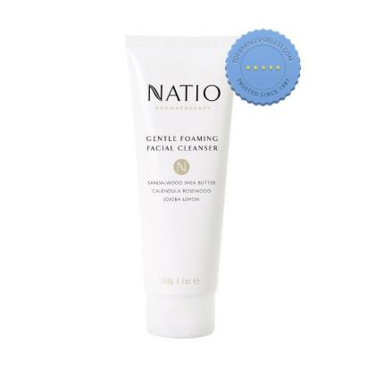 Buy natio foaming facial cleanser -