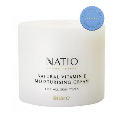 Buy Natio Face Natural Vitamin E Cream 100g