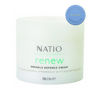 Buy Natio Wrinkle Defence Cream 100g -