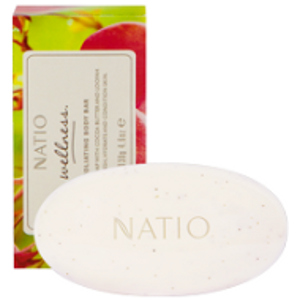 Buy natio wellness exfoliating body bar 130g -