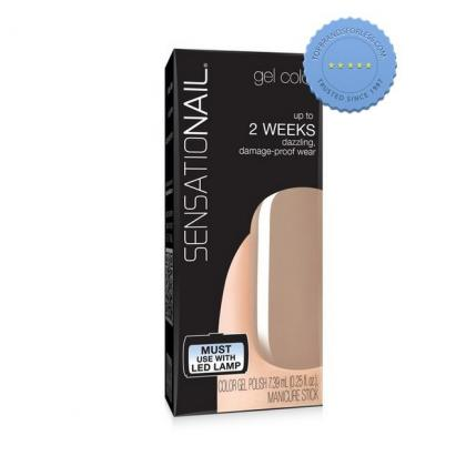 Buy Sensationail by Nailene Tauped Tulip Gel Color