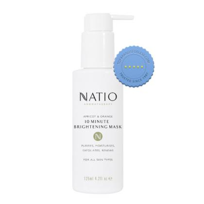 Buy Natio Apricot and Orange 10 Minutes Brightening Mask 125ml -