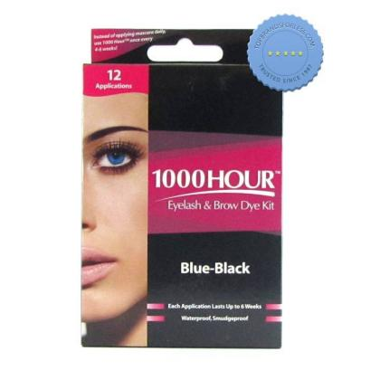 1000 Hour Home Eyelash and Eyebrow Tinting Kit Black
