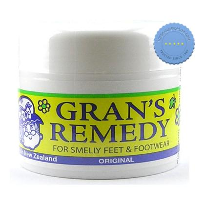Grans Remedy Foot Powder 50g Original - - International Shipping
