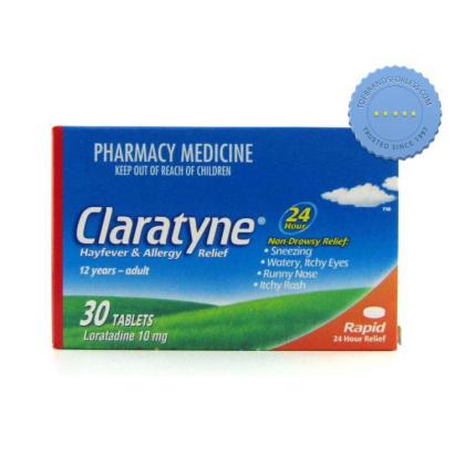 Claratyne/Claritin Allergy Tabs 30 tablets