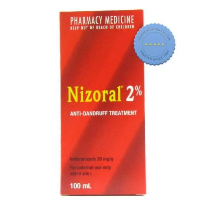 Nizoral Shampoo 2% 100ml with Ketoconazole for Dandruff