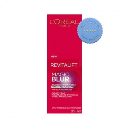 loreal revitalift magic blur instant skin smoother finishing cream 30ml