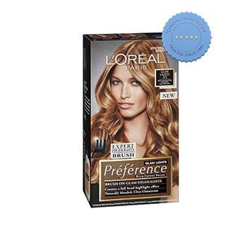 loreal preference glam lights brush on glam highlights n2 dark blonde to light blonde -
